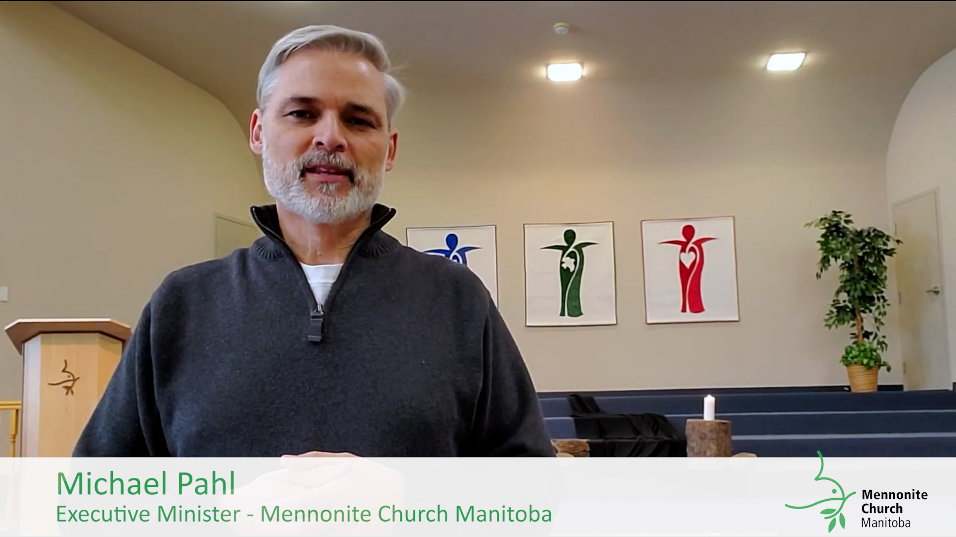 Michael Pahl greets MCM - Video